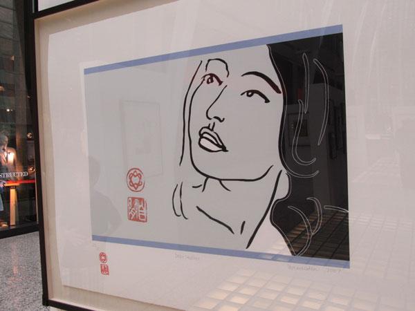 Leonard Cohen Art Exhibit Toronto