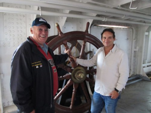 Keewatin Eric Conroy and Gil Blutrich